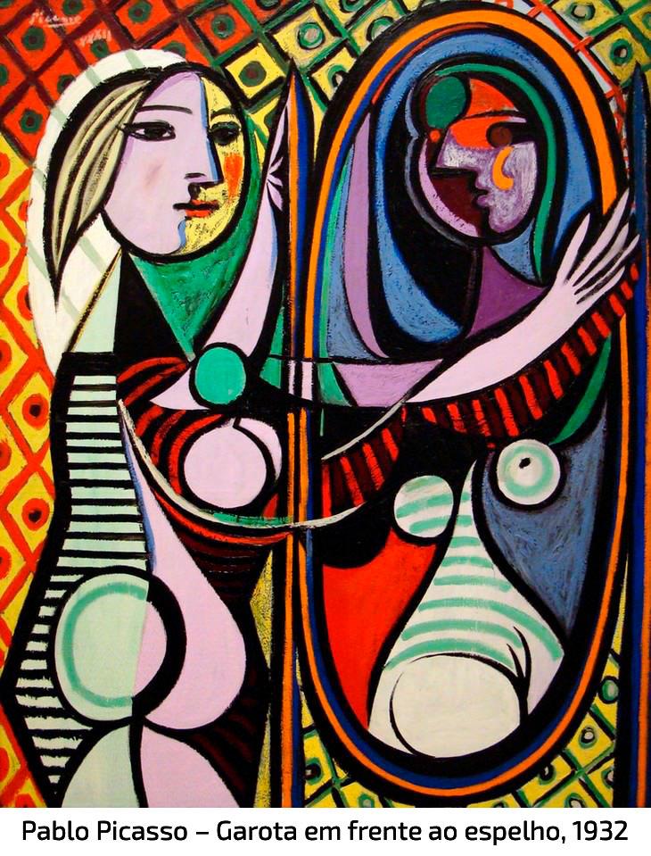 Pablo Picasso – Garota em frente ao espelho, 1932